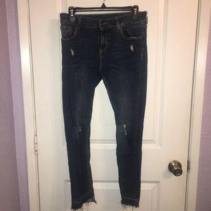 Women's Zara skinny jeans